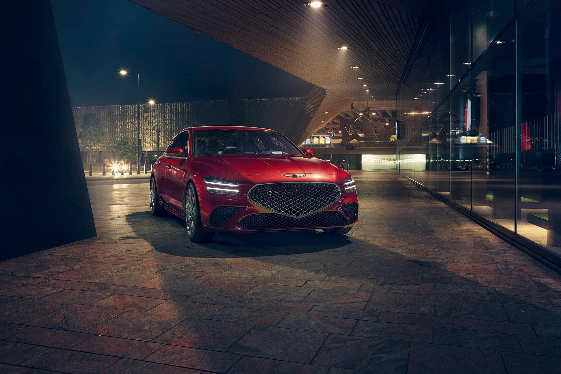 Xe sang Hàn Quốc Genesis muốn vượt Lexus, Audi trong tương lai gần