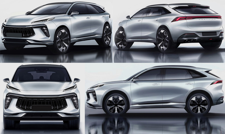 Bản thiết kế Dongfeng SX5G 2020.