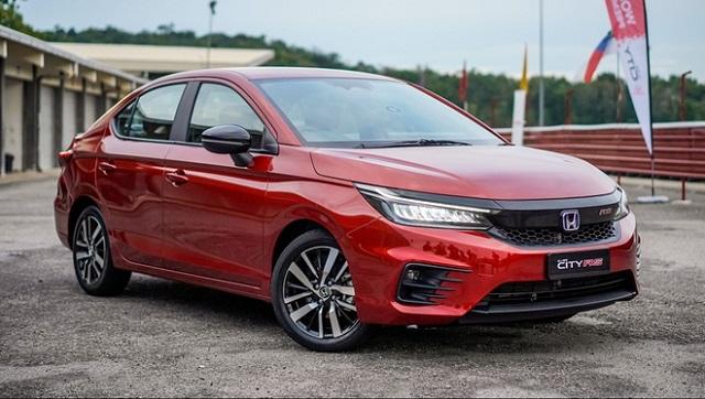 Honda City RS 2021 dành cho thị trường Malaysia. Ảnh: Paultan.