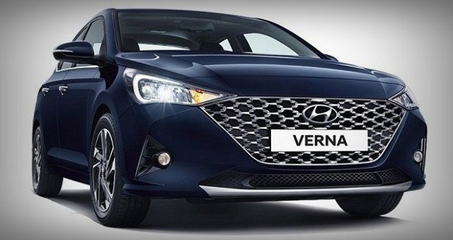 Hyundai Accent hay còn gọi là Verna tại Ấn Độ. Ảnh: Hyundai