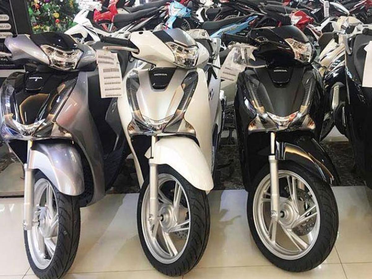 Honda SH là mẫu xe ăn khách tại Việt Nam