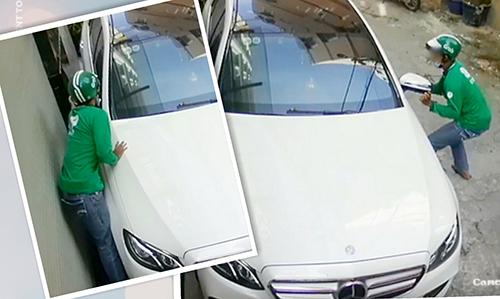 Dở khóc, dở... mếu vì xe bị trộm gương chiếu hậu - Ảnh 1.