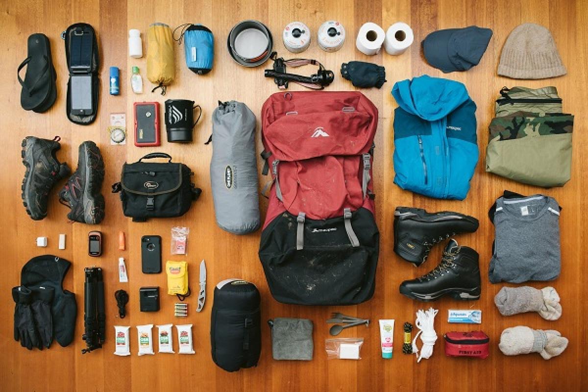 Bạn nên chú ý tới việc lựa chọn các loại đồ dùng cần thiết để mang theo.
