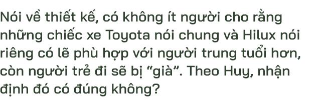 9X Lào Cai đánh giá Toyota Hilux 2020: Bán tải không còn là nửa xe tải - Ảnh 15.