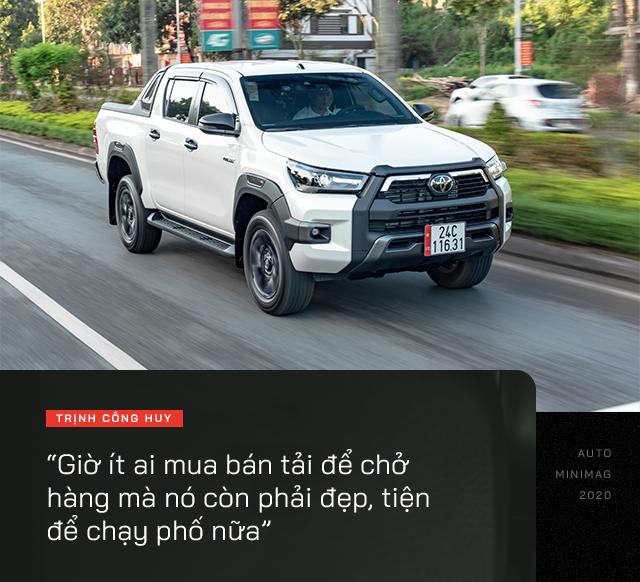 9X Lào Cai đánh giá Toyota Hilux 2020: Bán tải không còn là nửa xe tải - Ảnh 6.