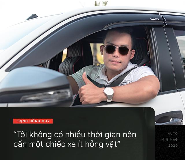 9X Lào Cai đánh giá Toyota Hilux 2020: Bán tải không còn là nửa xe tải - Ảnh 11.