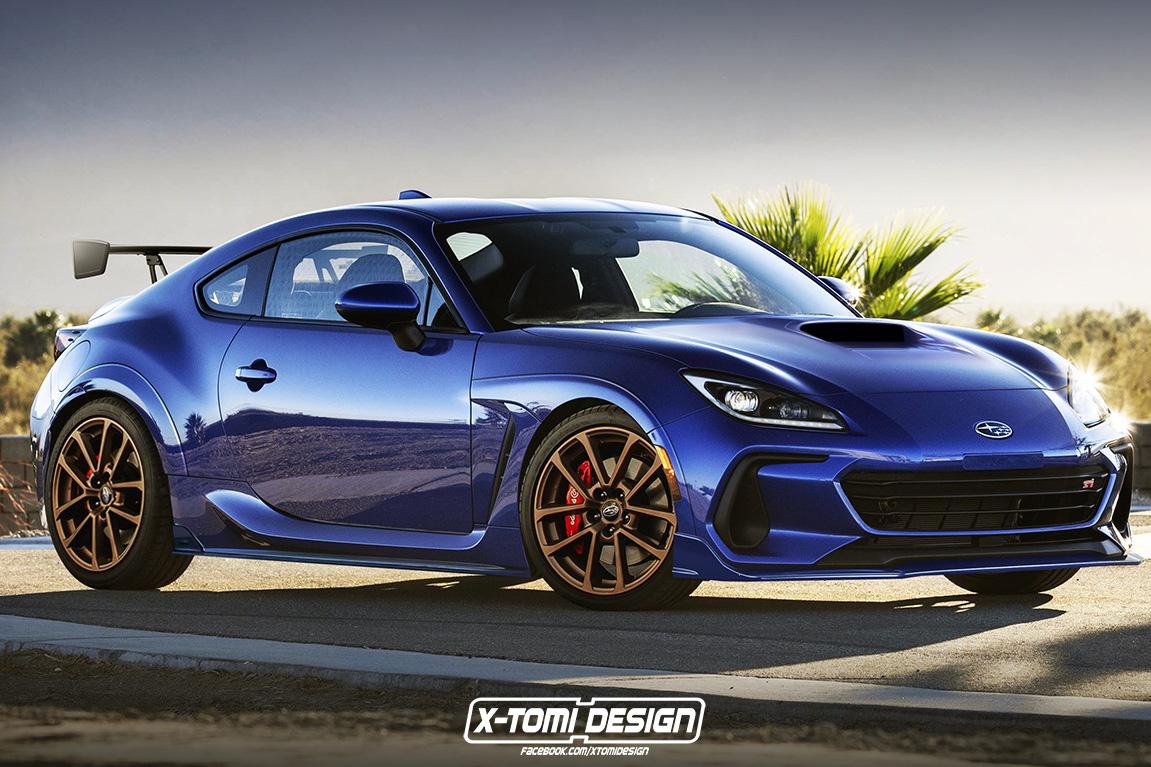 Nếu thất vọng với Subaru BRZ mới thì bạn có thể ước phiên bản STI dưới đây