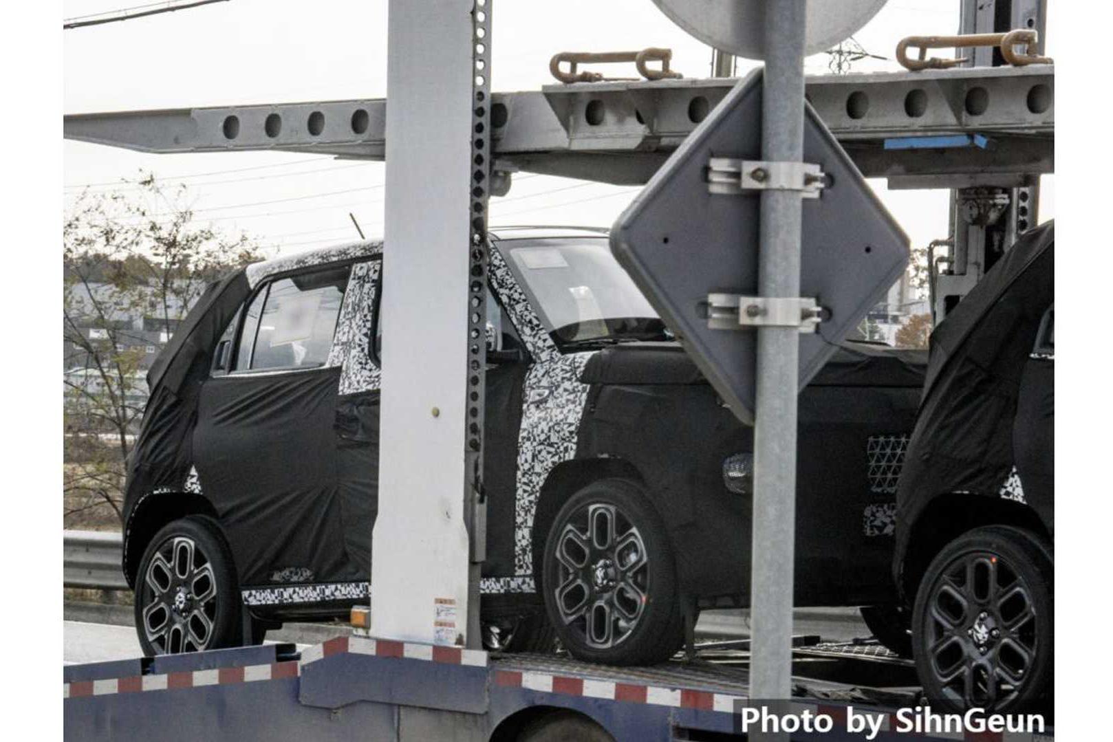 Hyundai chạy thử SUV siêu nhỏ, nhiều khả năng là 'Hyundai Grand i10 gầm cao'