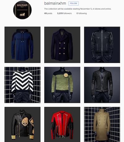 Sự cố rò rỉ hàng chục thiết kể của H&M và Balmain.