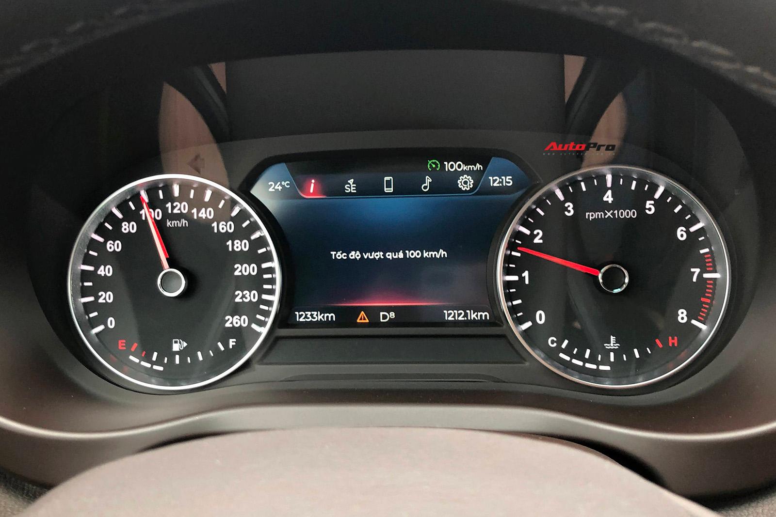 Lux A2.0 không có giới hạn tốc độ nhưng có chức năng cảnh báo khi vượt quá tốc độ cài đặt.