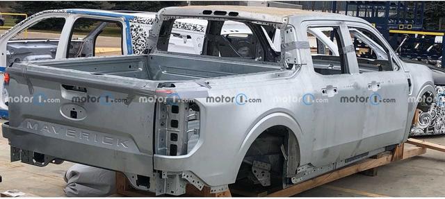 Lộ diện chi tiết hot của Ford Maverick - Đàn em Ranger đúng chất bán tải mini - Ảnh 1.