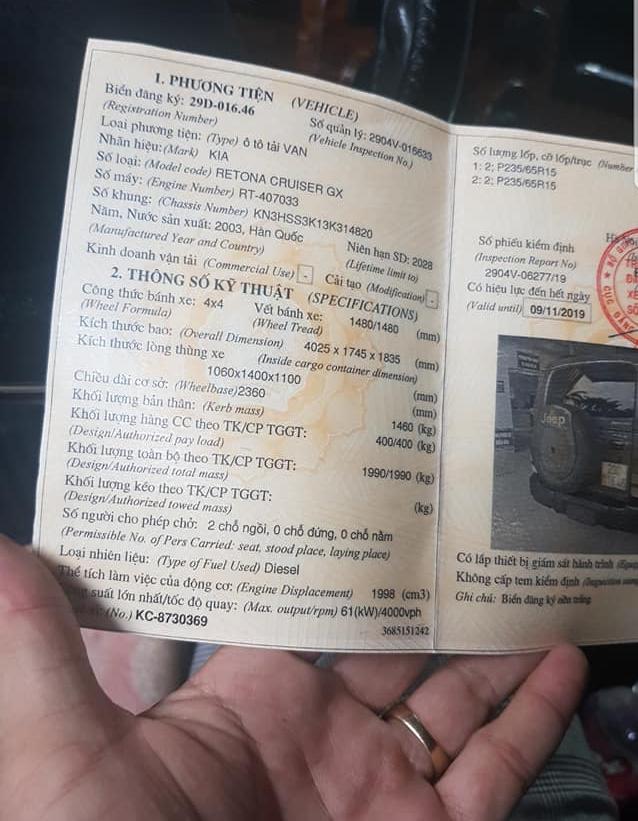 Thiếu thời gian chơi, chủ xe bán SUV Kia nhái Jeep với giá chưa tới 200 triệu đồng - Ảnh 6.