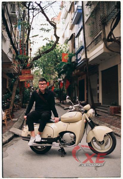 Dân chơi Hà Nội săn xe máy Nhật 28 năm tuổi đẹp như mới - Ảnh 4.