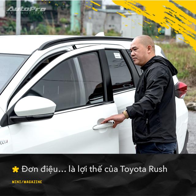Người dùng đánh giá Toyota Rush sau nửa năm sử dụng: Ngược dòng số đông nhưng đầy bất ngờ - Ảnh 3.