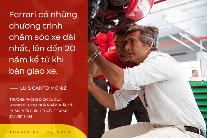Người sinh cùng thời với siêu xe Ferrari tại Việt Nam: Nuôi siêu xe không tốn nhưng đừng dễ dãi đến mức sửa xe trên vỉa hè - Ảnh 5.