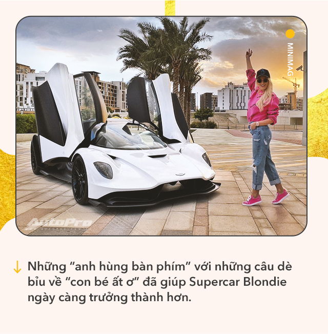 Cô gái vàng trong làng review xe: Từ lái Mitsubishi tới chinh phục siêu xe và kiếm bộn tiền khiến cánh mày râu ngả mũ - Ảnh 9.