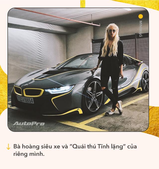 Cô gái vàng trong làng review xe: Từ lái Mitsubishi tới chinh phục siêu xe và kiếm bộn tiền khiến cánh mày râu ngả mũ - Ảnh 3.