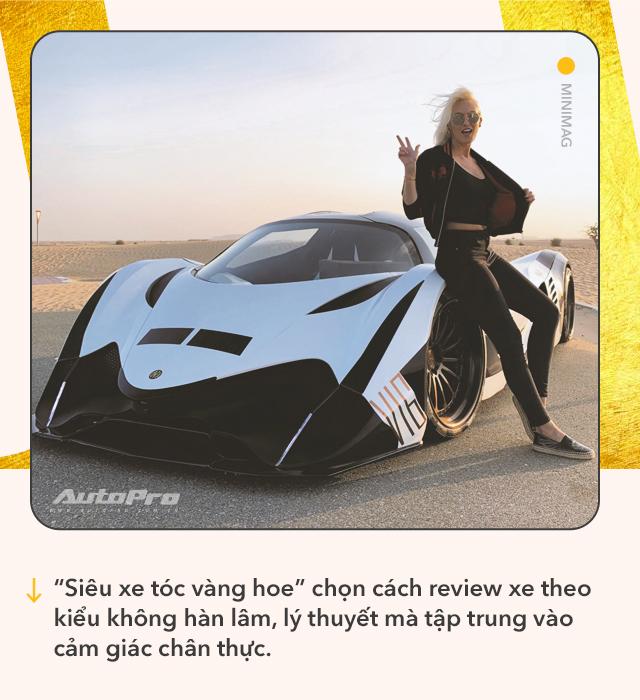Cô gái vàng trong làng review xe: Từ lái Mitsubishi tới chinh phục siêu xe và kiếm bộn tiền khiến cánh mày râu ngả mũ - Ảnh 5.