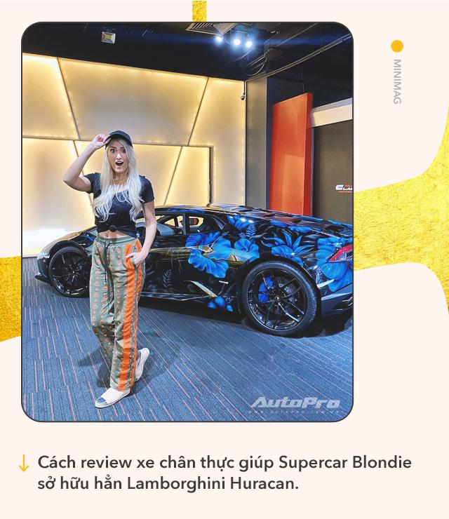 Cô gái vàng trong làng review xe: Từ lái Mitsubishi tới chinh phục siêu xe và kiếm bộn tiền khiến cánh mày râu ngả mũ - Ảnh 7.