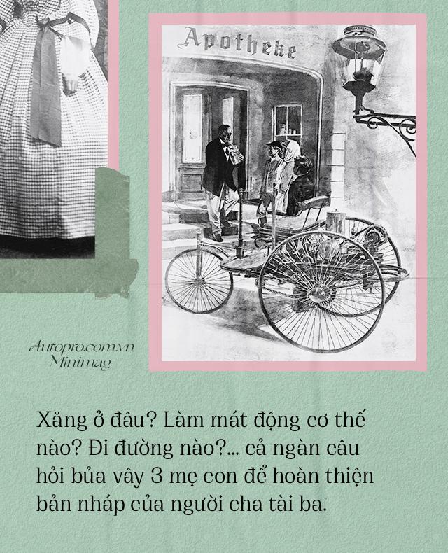 Chuyện ít biết về người vợ liều lĩnh của Benz: Không có bà thì không có Mercedes-Benz và càng không có ô tô hiện đại như ngày nay - Ảnh 6.