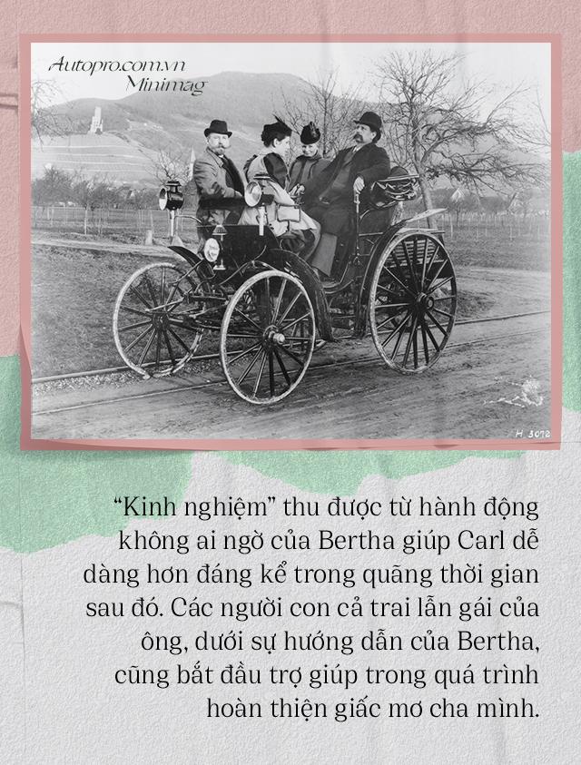 Chuyện ít biết về người vợ liều lĩnh của Benz: Không có bà thì không có Mercedes-Benz và càng không có ô tô hiện đại như ngày nay - Ảnh 7.