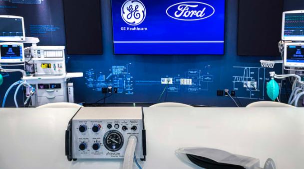 Ford và GE lên kế hoạch sản xuất 50.000 máy thở trong 100 ngày - Ảnh 1.