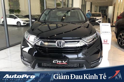 Honda CR-V giảm sốc 130 triệu tại đại lý, giá cao nhất không đến 1 tỷ đồng, làm khó Mazda CX-5