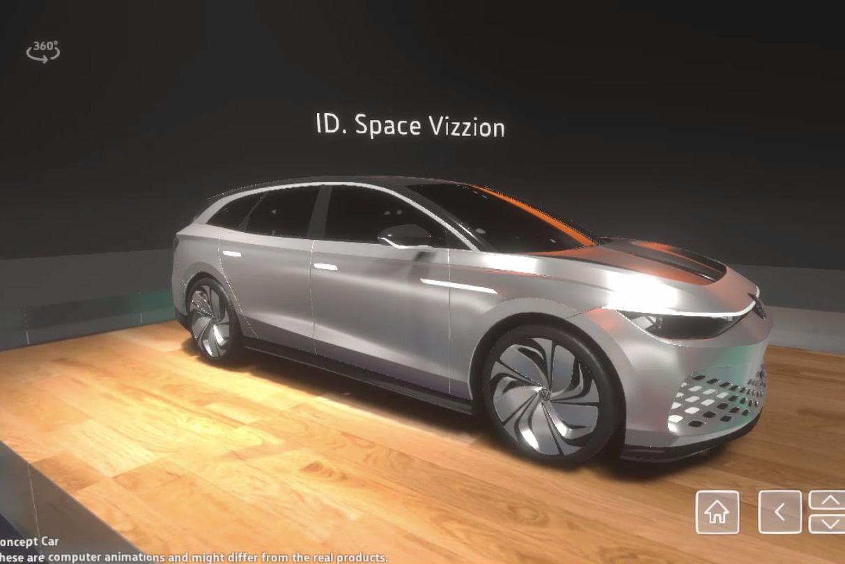 Volkswagen mở cửa gian trưng bày tại Geneva Motor Show 2020