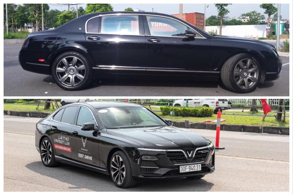Có 1,7 tỷ đồng, chọn VinFast Lux A2.0 mới hay Bentley Continental Flying Spur hơn chục năm tuổi?