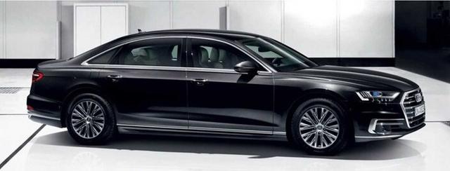 Ra mắt Audi A8 L Security: Bọc thép, khó cháy, chống đạn, khử độc, bảo vệ khách VIP - Ảnh 1.