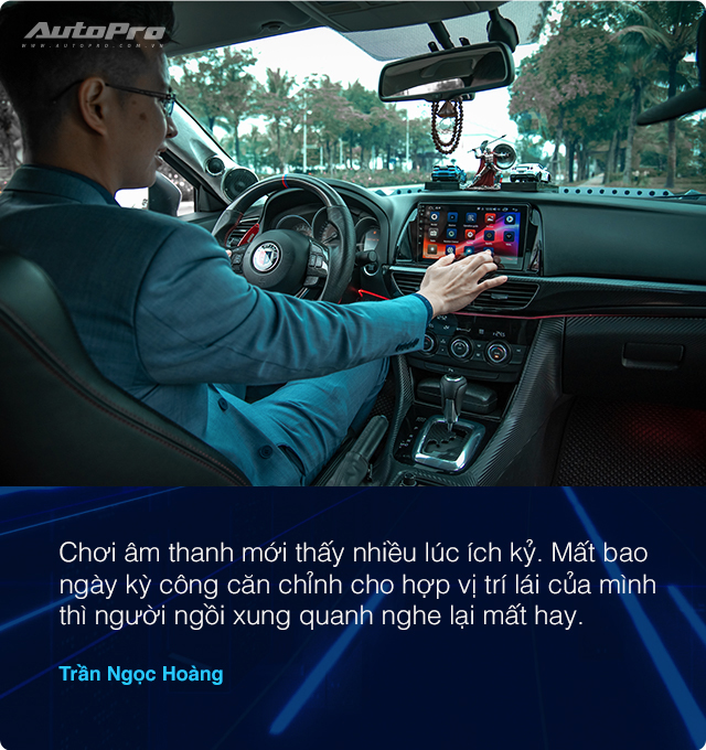 Người dùng Mazda6 sau 2 năm độ loa tới nỗi thợ phải sợ: Học phí hơn 200 triệu, bắt Grab đi làm và lời khuyên tránh 'hố vôi' thời gian, tiền bạc - Ảnh 13.