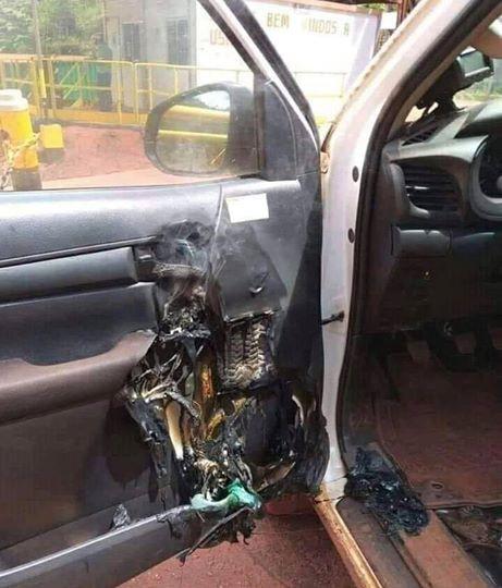 Để nước rửa tay khô trong ô tô gây hỏa hoạn - Ảnh 1.