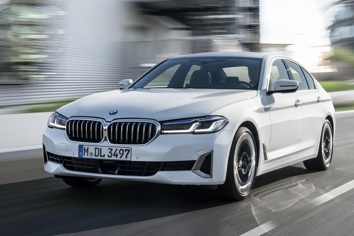 Ra mắt BMW 5-Series 2021: Không có lỗ mũi khổng lồ, thêm công nghệ mới, đáp trả Mercedes-Benz E-Class 2020