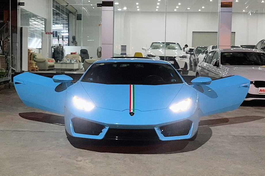 'Hàng hiếm' Lamborghini Huracan LP580-2 từng được rao bán giá 13,6 tỷ đồng tiếp tục về tay đại gia Sài Gòn