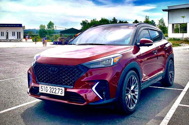 Hyundai Tucson độ gói hiệu năng cao N-Line giá hơn 80 triệu đồng tại Việt Nam - Ảnh 2.