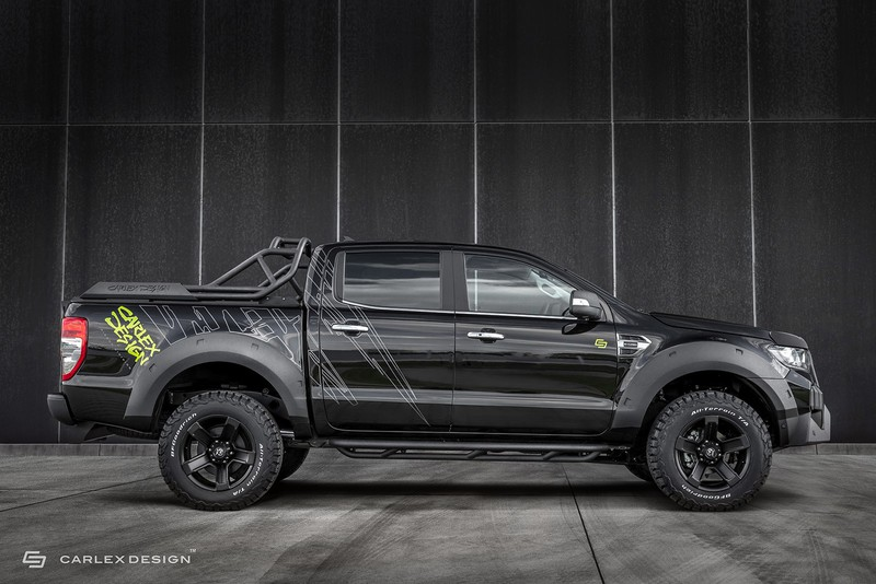 Ford Ranger hầm hố hơn sau khi qua tay của Carlex Design