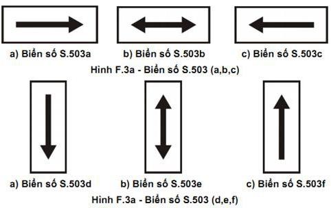 Các loại biển giao thông phụ theo Quy chuẩn mới có hiệu lực từ 1/7/2020 - Ảnh 3.