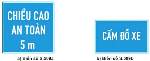 Các loại biển giao thông phụ theo Quy chuẩn mới có hiệu lực từ 1/7/2020 - Ảnh 9.