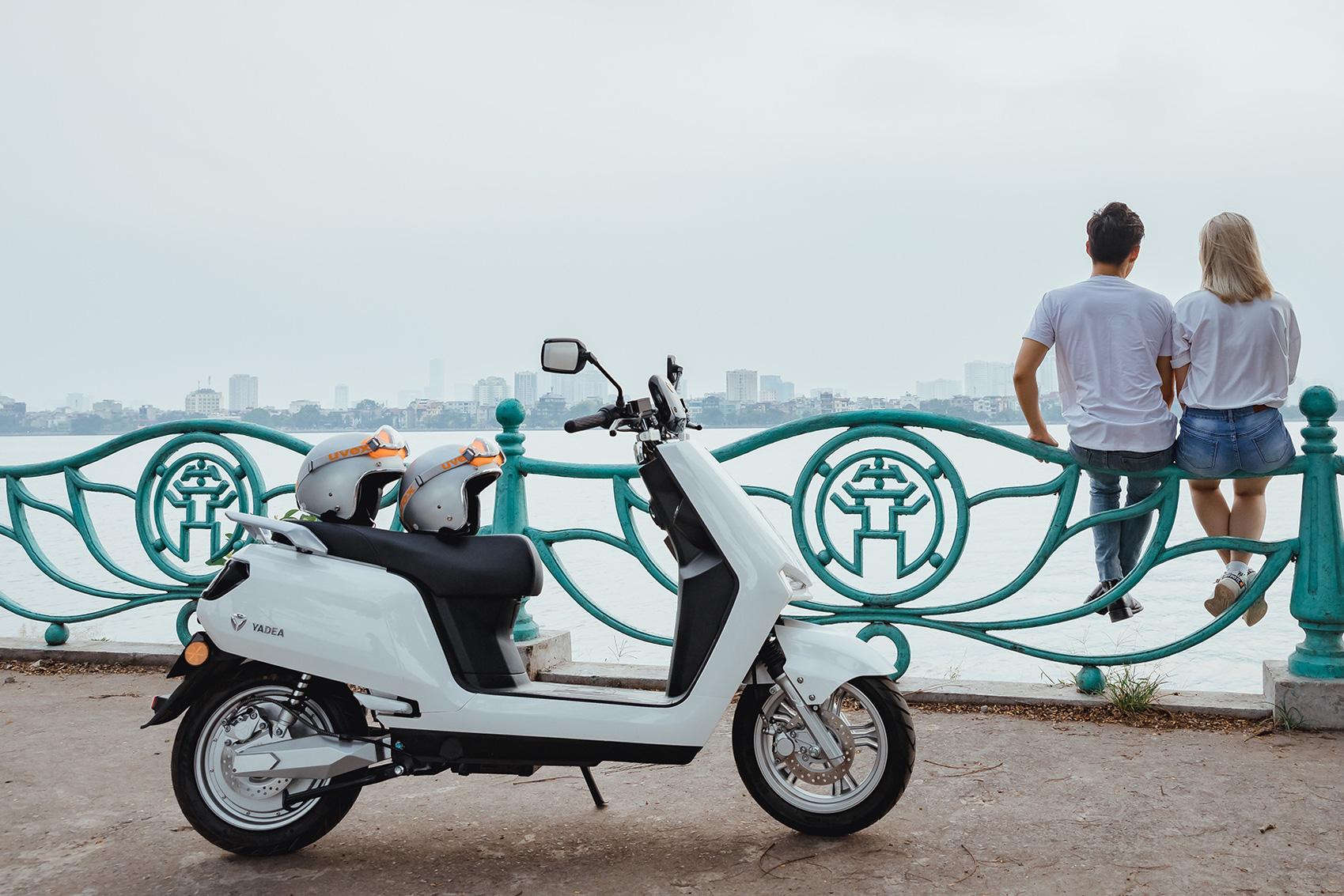 Ra mắt YADEA BuyE: Xe máy điện to ngang Honda LEAD, giá 22 triệu đồng, đi được hơn 90 km/sạc