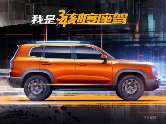 Đây là SUV Trung Quốc được cựu lãnh đạo Land Rover đặt bút thiết kế: Ngoài giống Ford Bronco, trong đặc sệt Jaguar Land Rover - Ảnh 3.