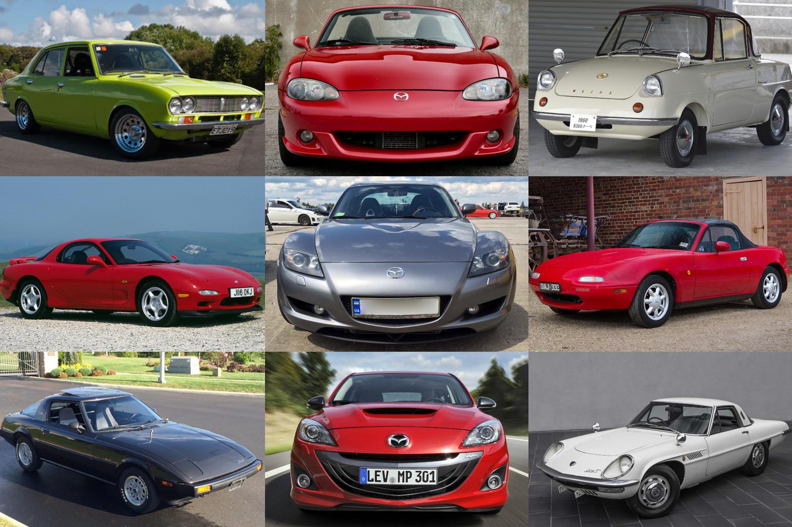 10 xe khẳng định tên tuổi Mazda: CX-5 gây bất ngờ khi 'lạc tông' nhất