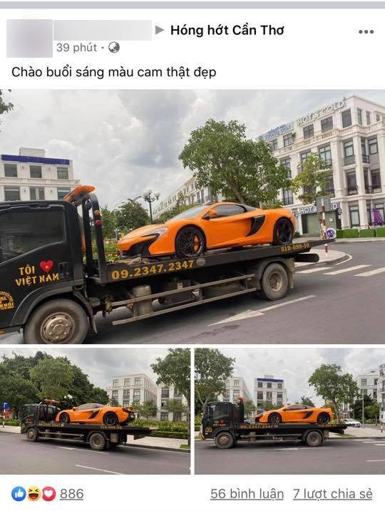Đại gia Cần Thơ mua lại siêu xe McLaren 650S Spider biển đẹp từng của Minh nhựa, ngay lập tức thay đổi 1 chi tiết - Ảnh 1.
