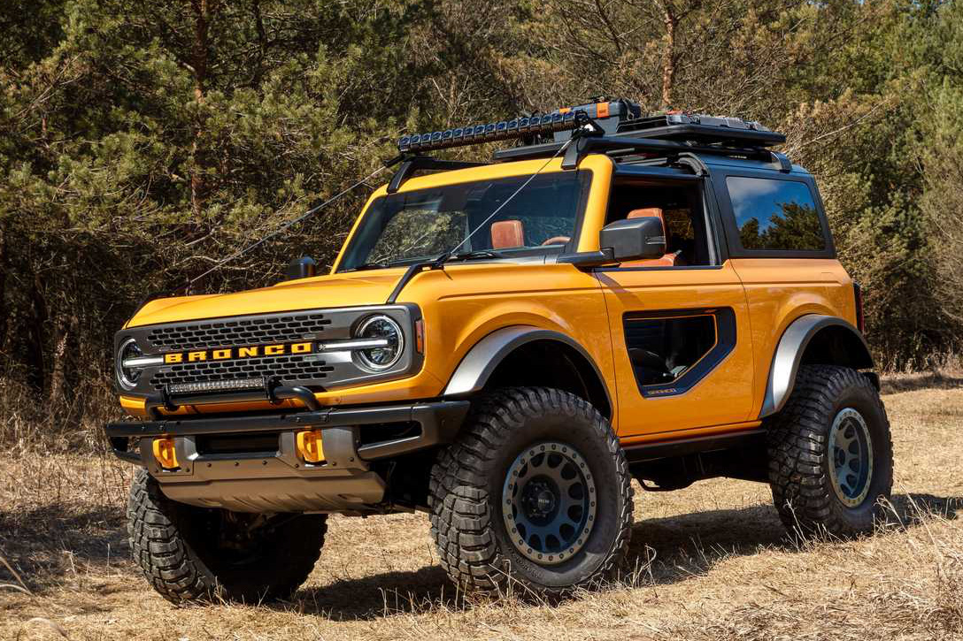 Ford Bronco là xe off-road thuần nhất với gói trang bị này