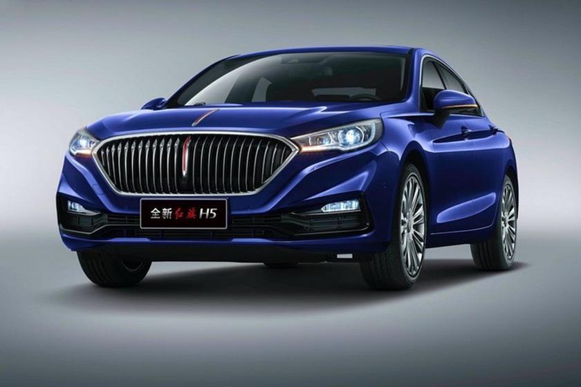 Đây là mẫu xe sang Hongqi dùng chung khung gầm Mazda6 vừa ra mắt tại Trung Quốc