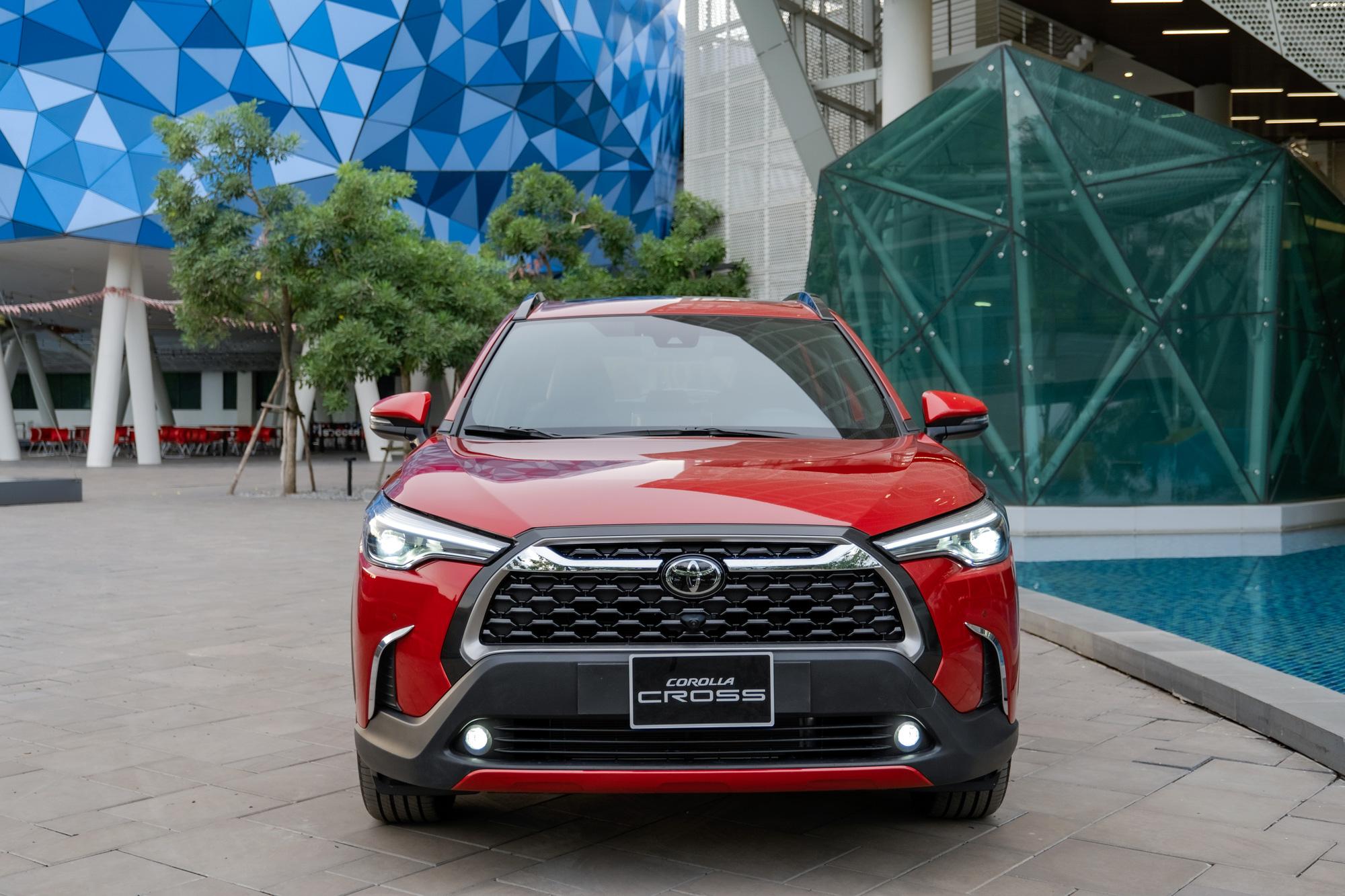 Bản 1.8V có thể là bản bán chạy nhất của dòng xe Toyota Corolla Cross tại Việt Nam.