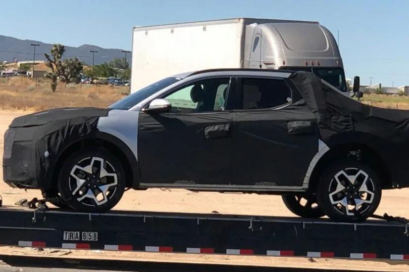 Hyundai Santa Cruz lại lộ mặt tại Mỹ, chờ ngày ra mắt sớm mai đấu Ford Ranger