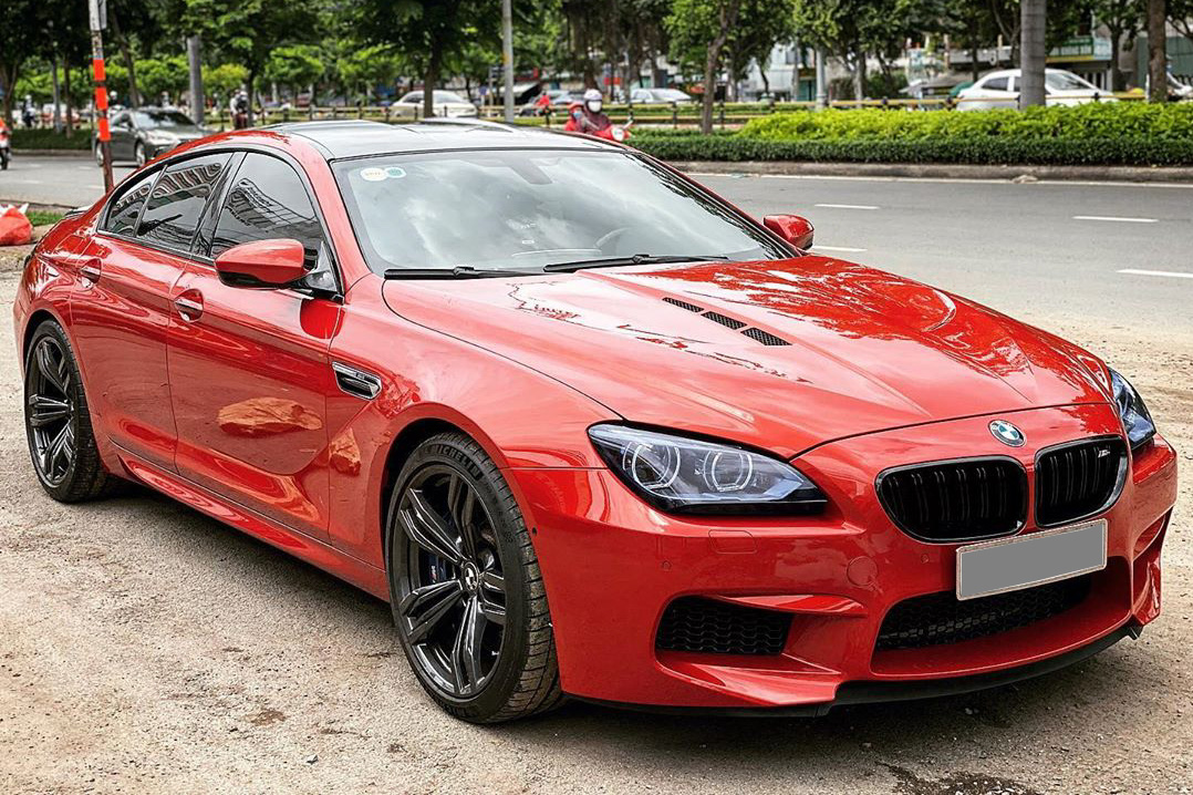 BMW M6 Gran Coupe màu sơn độc nhất Việt Nam hồi sinh sau tai nạn kinh hoàng