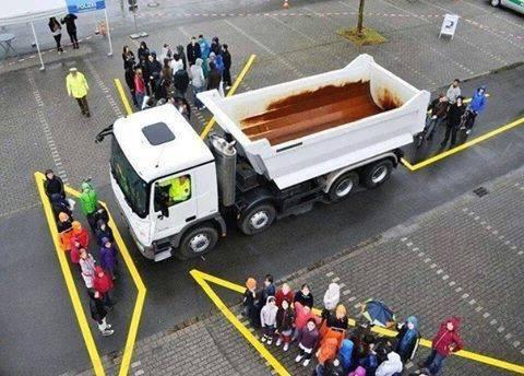 Làm thế nào để an toàn khi lái xe bên cạnh xe cỡ lớn? - Ảnh 3.