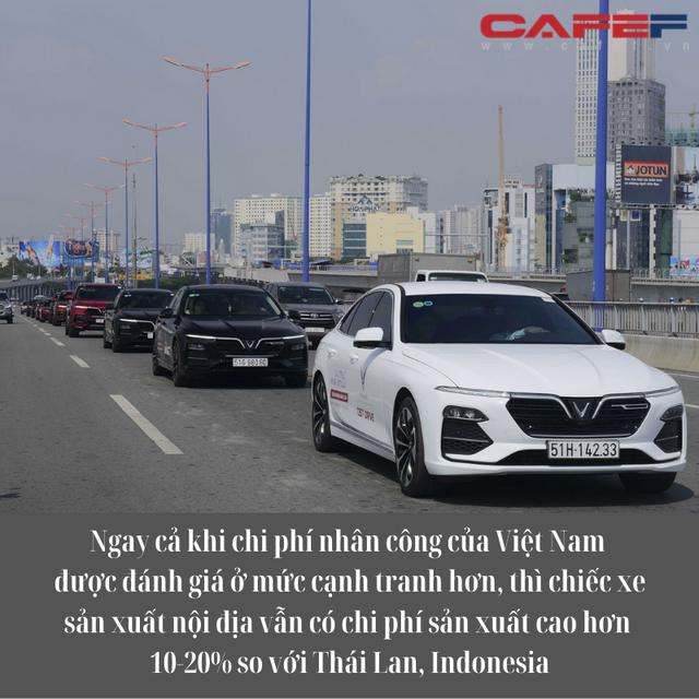 Vì sao ô tô Made in Vietnam mãi không rẻ, VinFast vì đâu lỗ nghìn tỷ cứ đâm đầu?  - Ảnh 2.