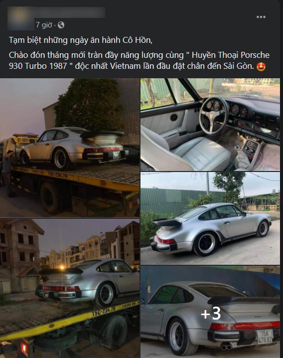 Porsche 930 Turbo độc nhất Việt Nam lên xe chuyên dụng, địa điểm đặt chân gây chú ý - Ảnh 1.
